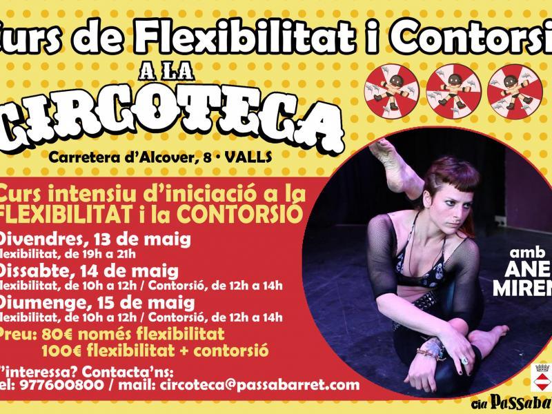Curs de flexibilitat i contorsió amb Ane Miren a La Circoteca