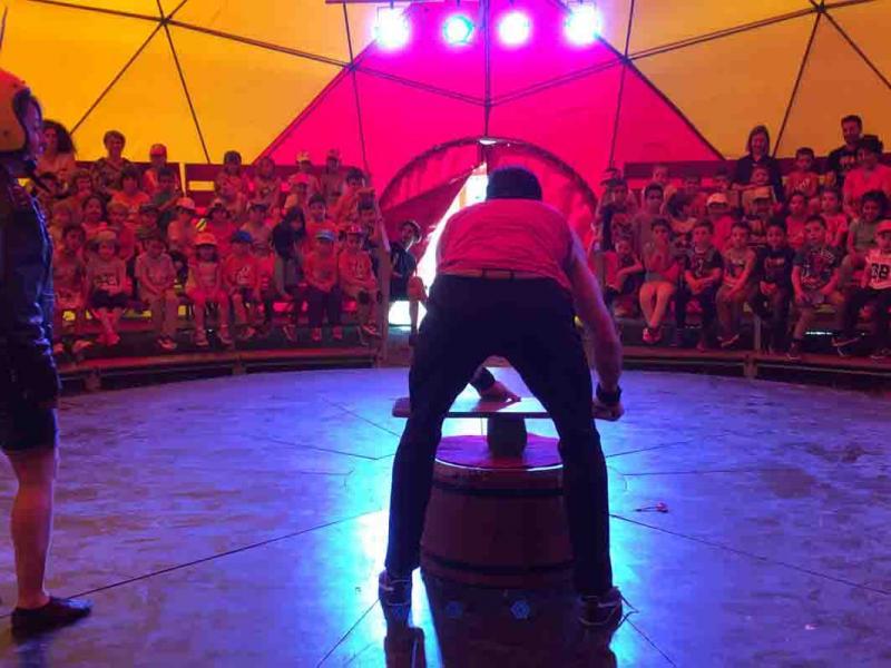 3.000 alumnes del Camp de Tarragona visiten la carpa de circ de Passabarret