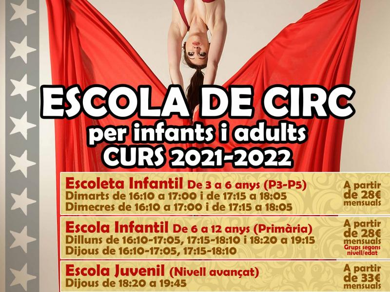 Arrenca el nou curs 2021-2022 a La Circoteca, obrint també els divendres