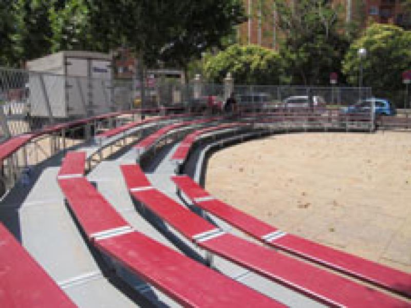 Grada circular de circ