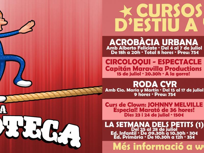 La Circoteca presenta la seva proposta d'activitats per l'estiu 2016