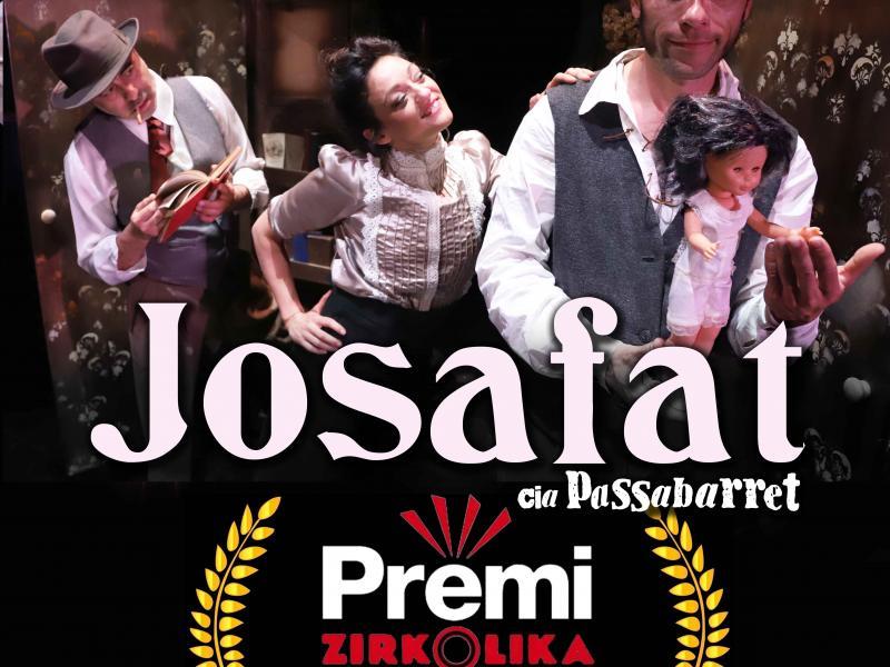 Cia. Passabarret guanya el Gran Premi dels Zirkòlika 2018 amb el seu 'Josafat'